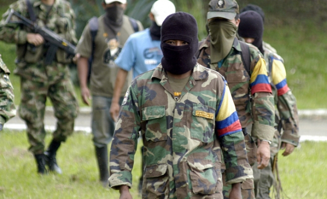 A dissident FARC leader says 'war goes on'