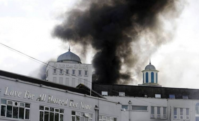 Fire breaks out in UK's Baitul Futuh Mosque
