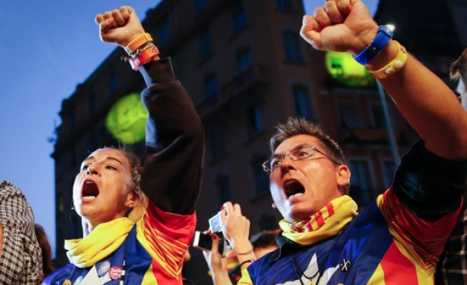 Catalans protest for release of 'political prisoners'