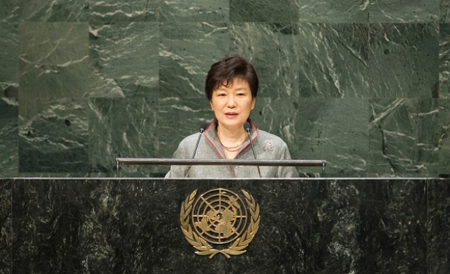 SKorea uses UN stage to send message to neighbors