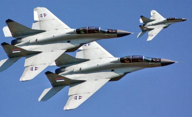 Turkish jets harassed by unidentified MIG-29