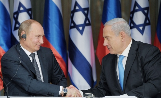 Russian military officials visit Israel for Syria talks