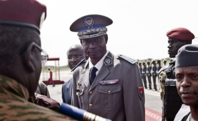 Burkina Faso general, ex-minister charged over failed coup