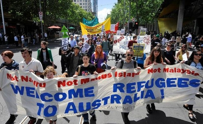 Australians rally in support of detained asylum seekers