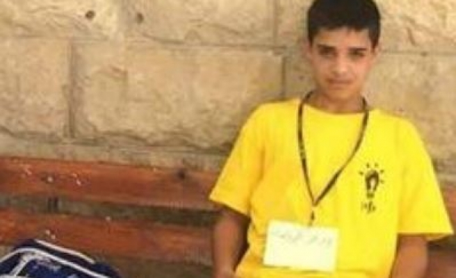 Palestinian child stomped on, left to bleed to death