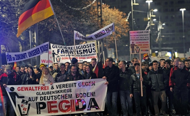 Outrage over concentration camp quote in PEGIDA speech