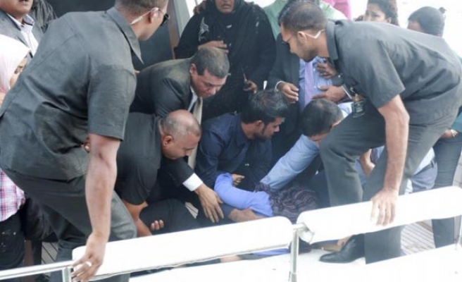 Maldives arrests vice pres. over plot to assassinate president