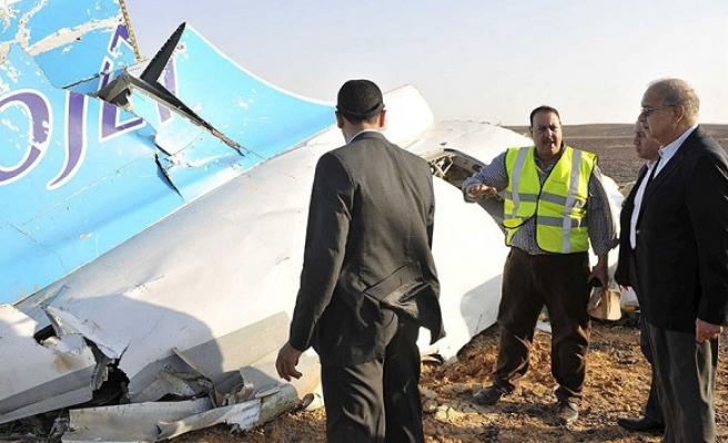 Russian plane crashes in Egypt's N.Sinai, 224 dead