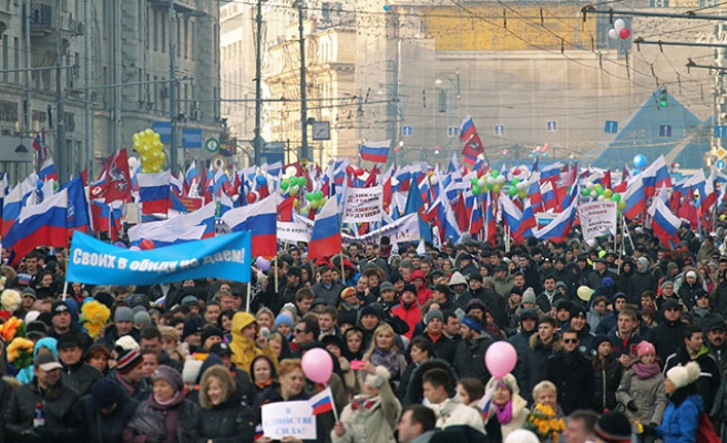 National Unity Day march in Moscow