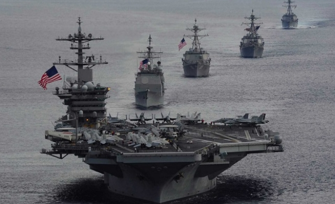 US, Malaysia defense chiefs to visit carrier in S. China Sea