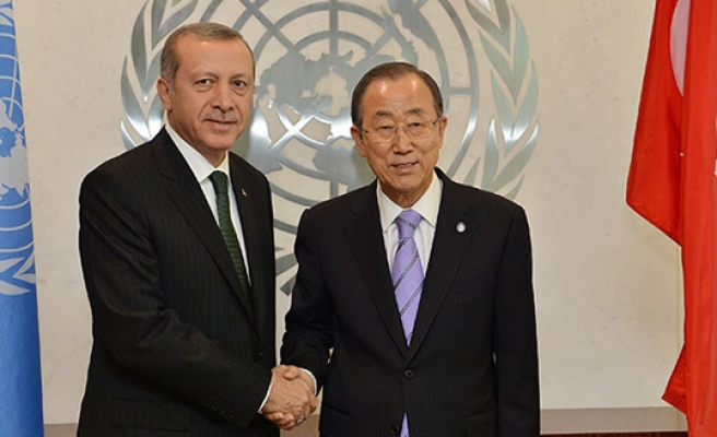 Turkish president, UN chief discuss climate change