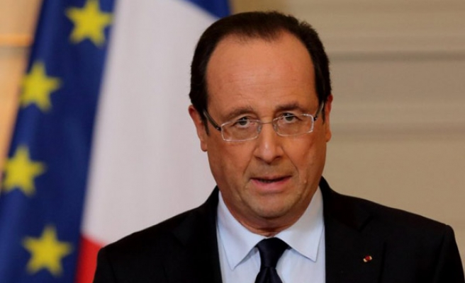 Hollande says will 'clarify positions' with Trump