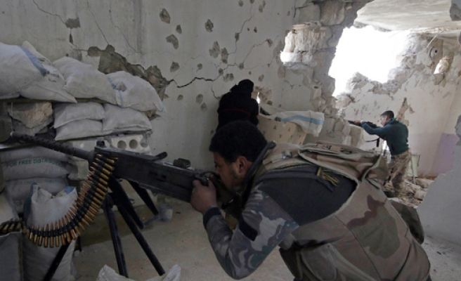 Russia 'aiming to drive Turkmen from Syria'