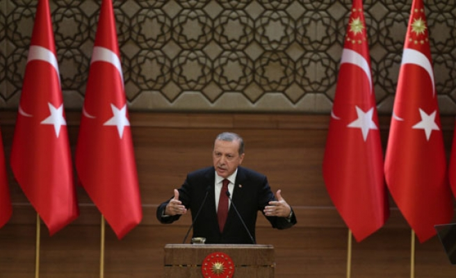 Turkey's Erdogan says West unable to stop refugees