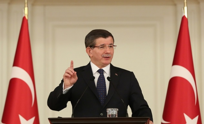 PM claims Turkey fighting terror on three fronts