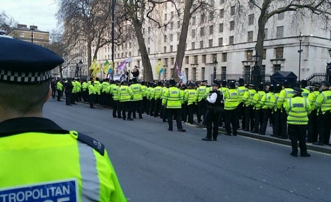 UK apologized to Turkey for protests
