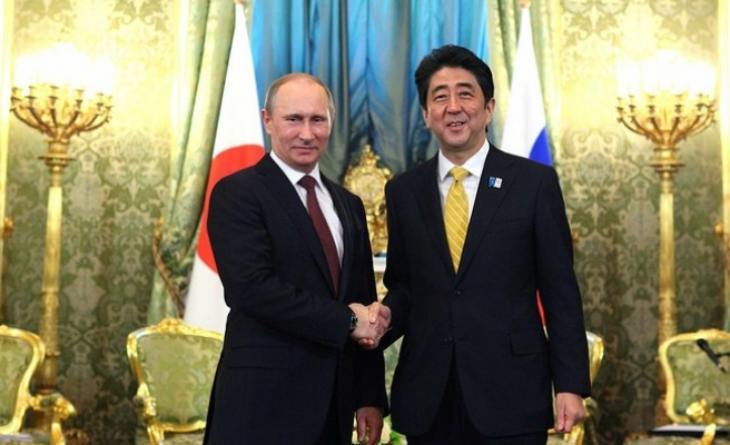 Japan PM to visit Moscow over islands row