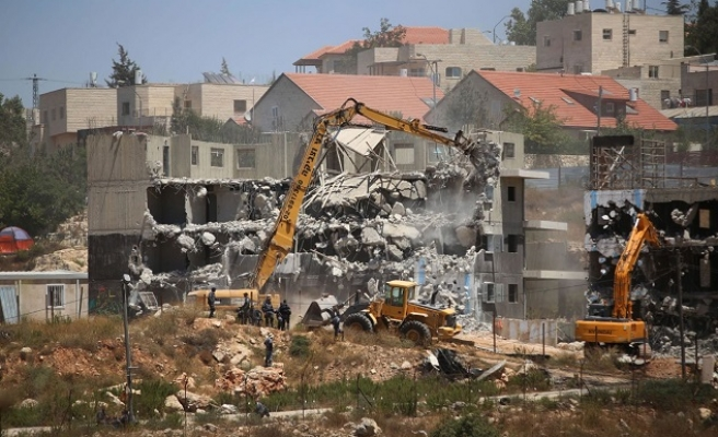 Israel demolishes EU-funded Palestinian buildings