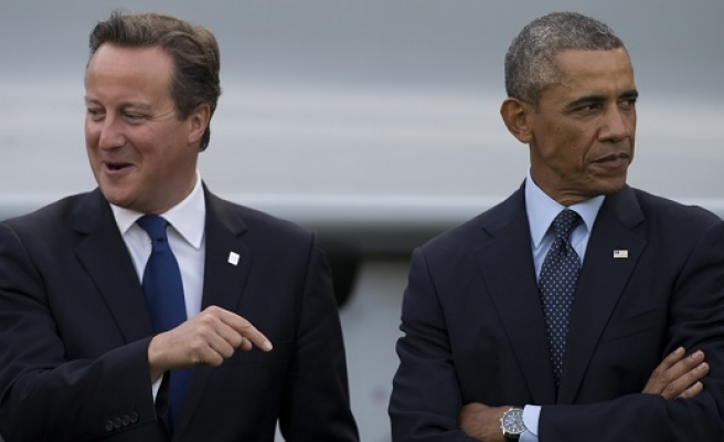 Obama says UK's place is in EU