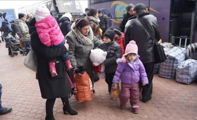 Meskhetian Turks fleeing Ukraine hope Turkey is last stop
