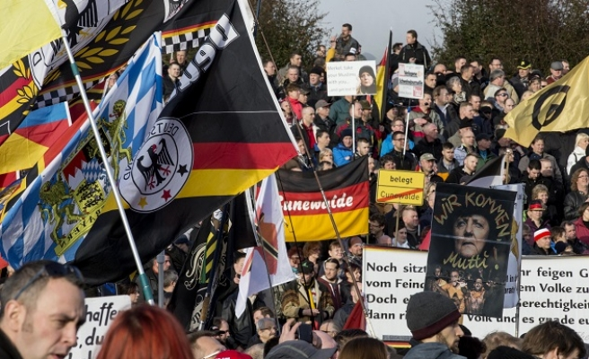 Thousands march across Europe in anti-Islam rallies