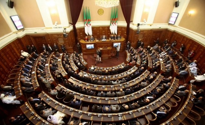 Algeria's parliament approves draft constitutional changes