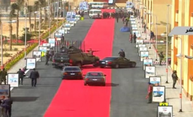 Anger in Egypt over red carpet for Sisi's convoy