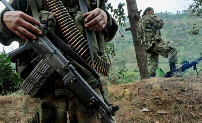 Colombia concludes disabling Farc´s 8.994 weapons