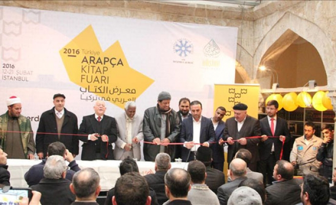 Thousands expected at Arabic Book Fair in Istanbul