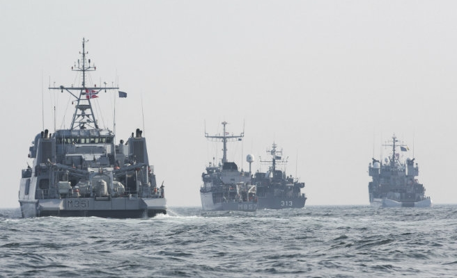 NATO launches Aegean patrols