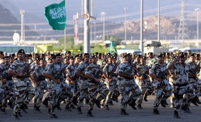 Large military exercise begins in Saudi