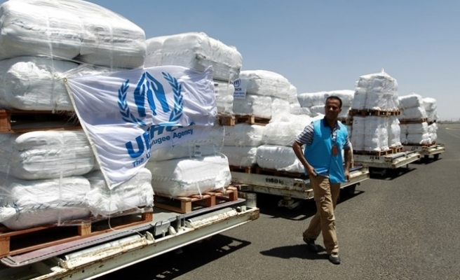 UN Yemen aid ship stuck in Saudi