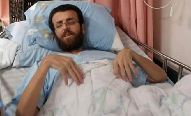 Israel rejects hunger-striker's appeal to be moved to W.Bank