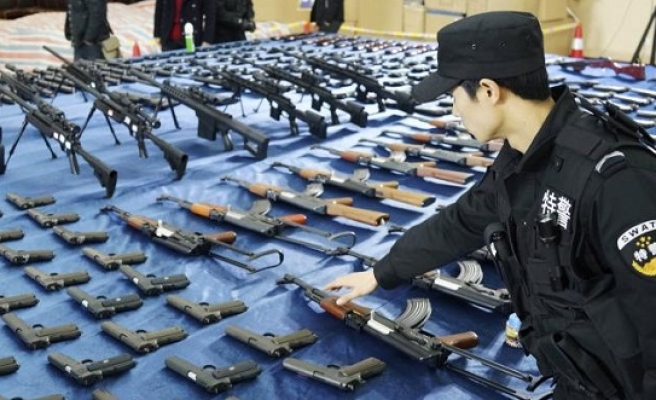 China increases share of world arms market