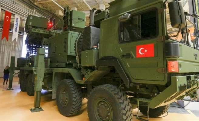 Turkish Air Force gets new electronic warfare system