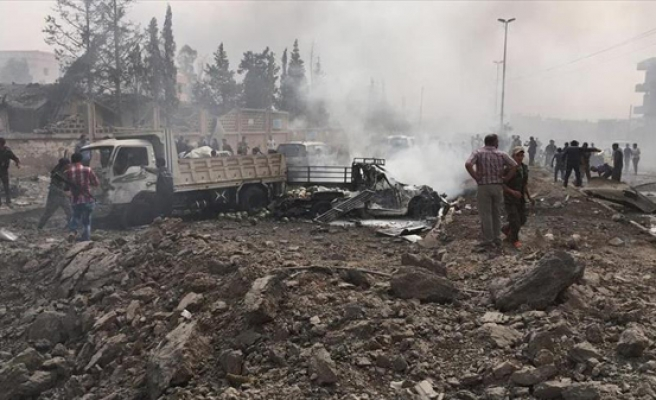 Hours after truce begins, car-bomb kills 2 in Syria