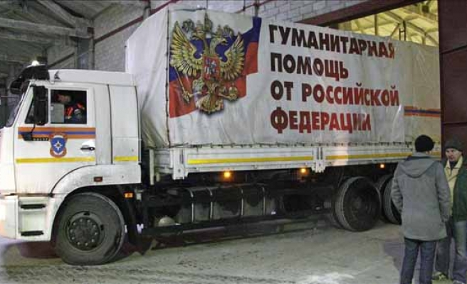 UN urges inspection of Russian aid trucks for Ukraine