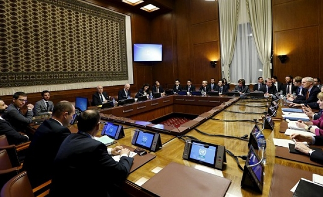 Syrian regime delegation joins peace talks in Geneva