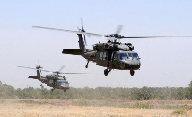 US troops in helicopter-borne raid in Somalia