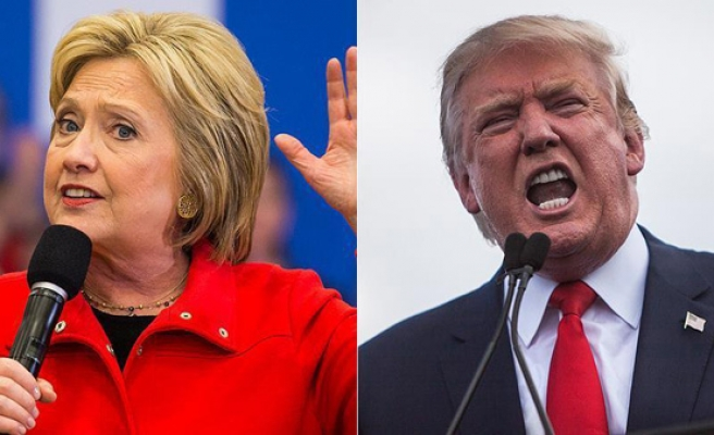 Clinton, Trump step closer for November face-off