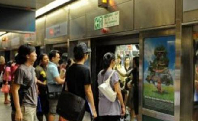 Two dead after Singapore train hits metro workers