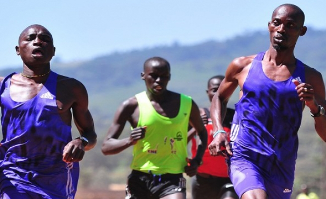 Refugees run for Rio Olympic dream team