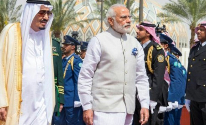 India's gifts of gold to Saudi...