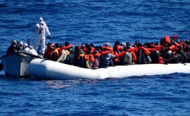 Refugees feared drowned in Mediterranean Sea