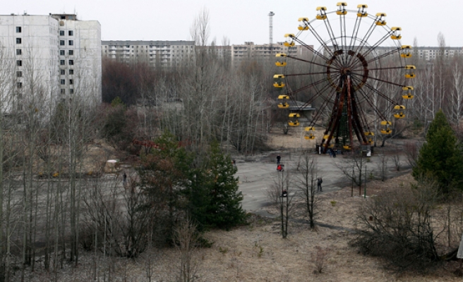 Ukraine to unveil giant steel shield over Chernobyl