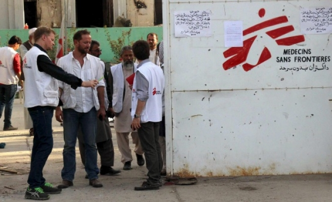 MSF rejects US report on Afghan hospital attack
