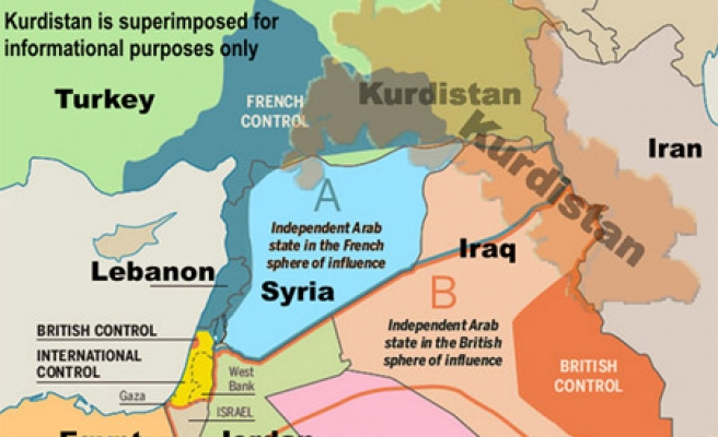 Sykes-Picot still vilified 100 years on