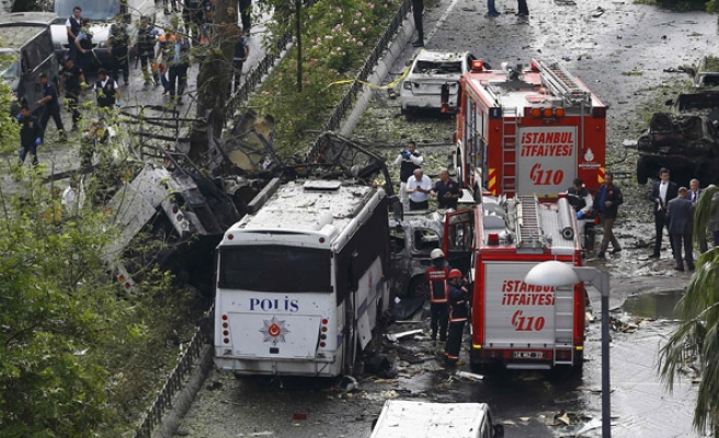 7 police, three civilians killed in Istanbul attack