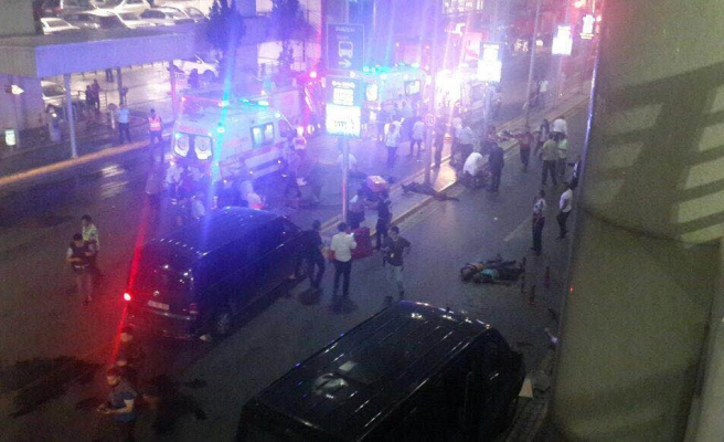 Bomb explosion at Istanbul airport