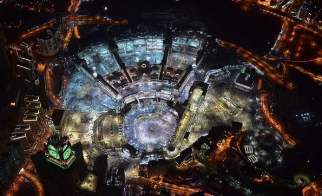 10 Amazing Aerial Photos from Makkah